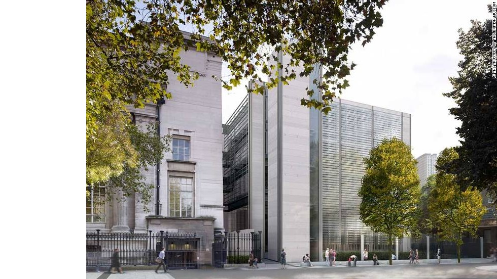 The British Museum recently spent $224 million to create its World Conservation and Exhibitions Centre. It includes 1,100 square meters of gallery space.