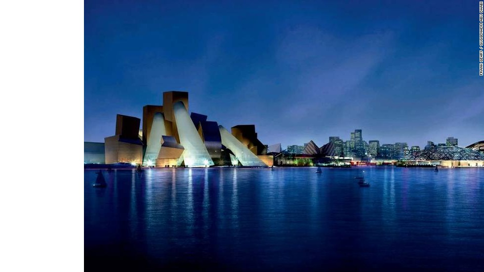 Museums are keen to take their brands overseas. The Guggenheim Abu Dhabi, designed by Frank Gehry, will sprawl out over 450,000 square feet.