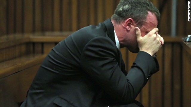 'Exhausted' Pistorius apologizes to family
