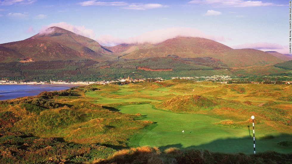 Though it's never hosted a professional major, Royal County Down is a worthy inclusion on any golfer's wish list. The magical links course is perennially voted one of the best in the world.