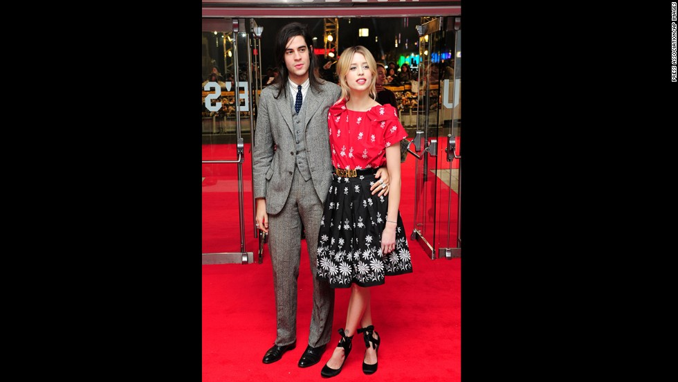 "Peaches Geldof and her husband, Thomas Cohen, arrive at the UK premiere of ""The Wolf of Wall Street."" ""My beloved wife, Peaches, was adored by myself and her two sons, Astala and Phaedra, and I shall bring them up with their mother in their hearts every day,"" Cohen said in a statement. ""We shall love her forever."""