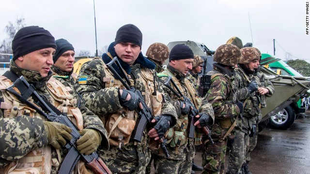 Ukraine warns Russia: Don't invade