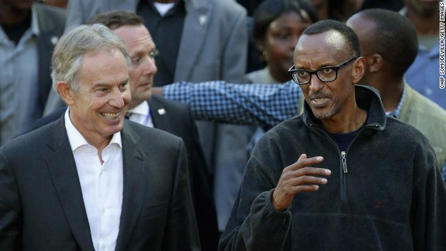 Blair: Rwanda needed 'strong leadership'