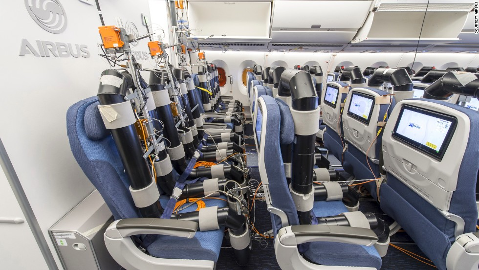 There should be fewer drainpipes seated next to you when the plane comes into service later this year.