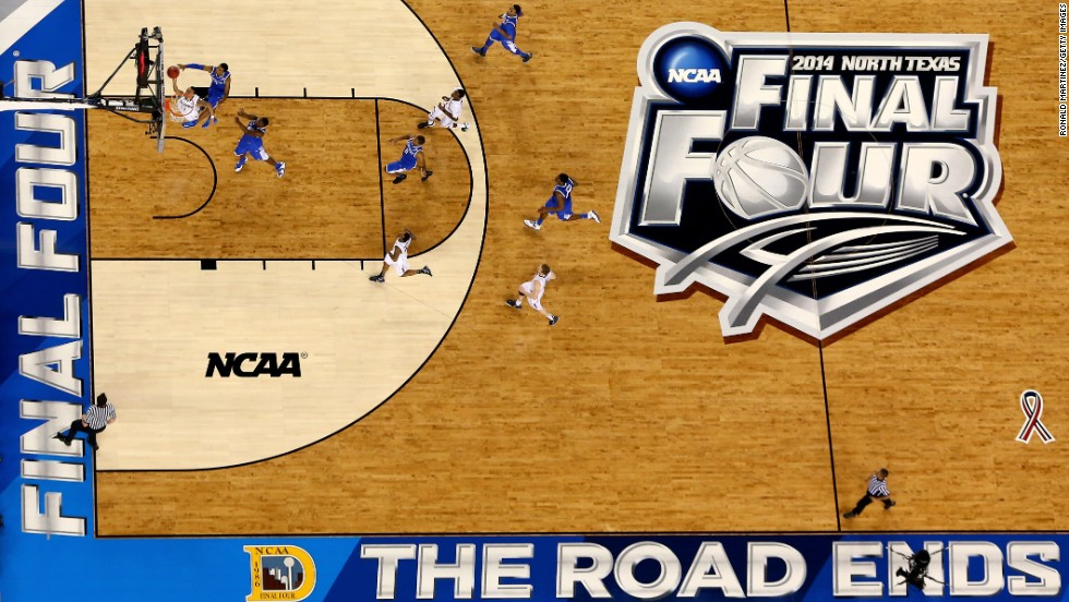 Napier goes to the basket against Kentucky during the first half.