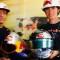 Ivan Origone and Sebastian Vettel