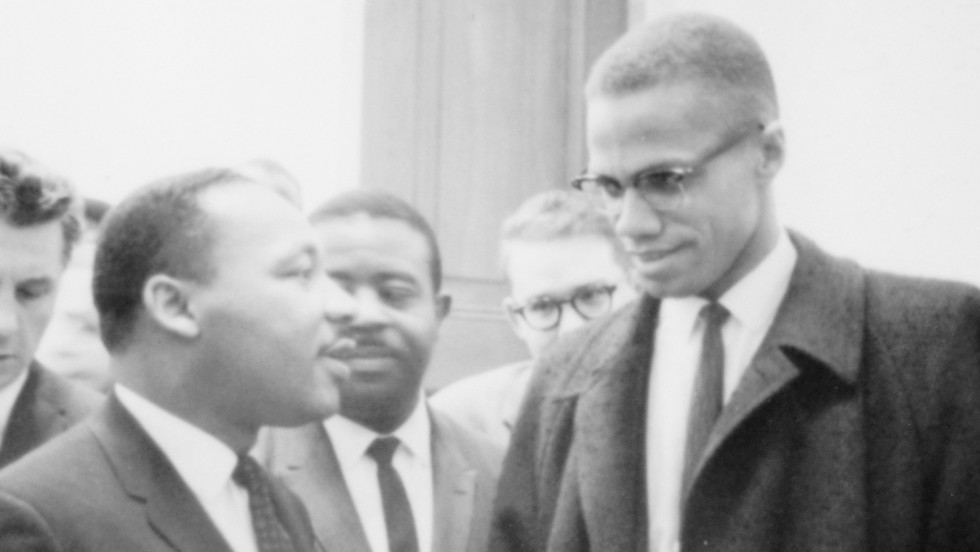 MLK and Malcolm X met only once?