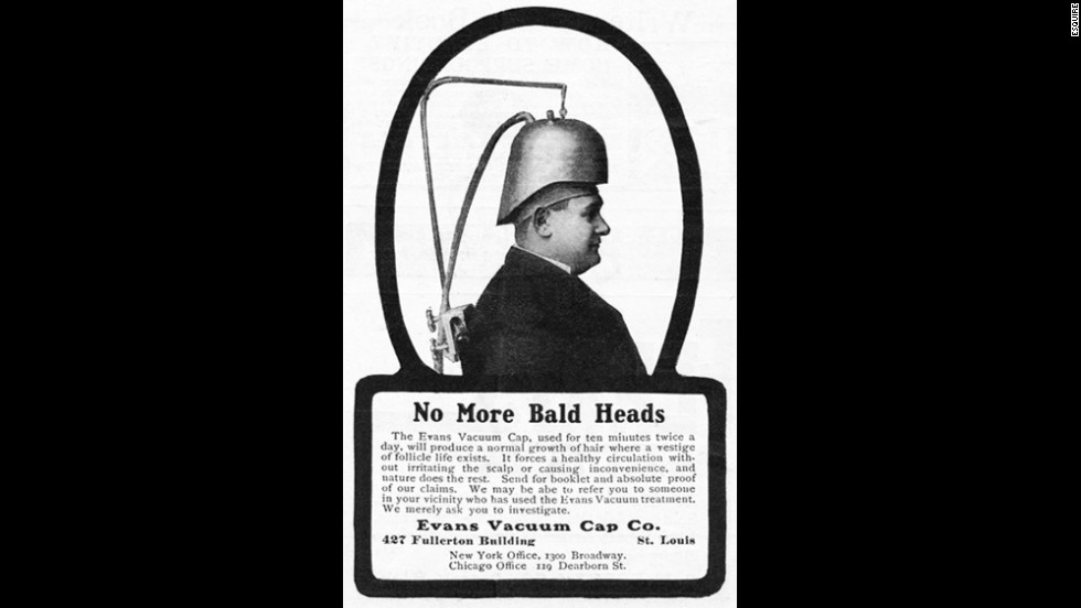The Evans vacuum cap