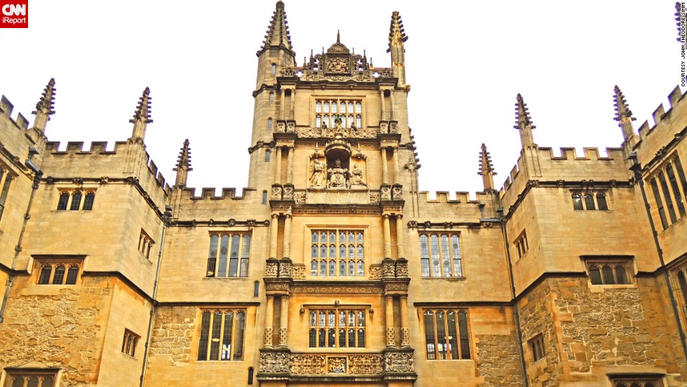 "The <a href=""http://www.bodleian.ox.ac.uk/bodley"" target=""_blank"">Bodleian Library</a> is <a href=""http://ireport.cnn.com/docs/DOC-1117622"">Oxford University's main research library</a>, and one of the six Legal Deposit libraries. Legal Deposit, part of English law since 1662, ensures that everything published in the nation is collected and retained in libraries as part of the national public archive."