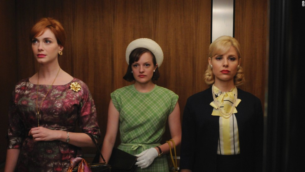 "The episode ""The Beautiful Women"" from the fourth season took place in 1965 and showed the different trajectories of three professional women's lives. Peggy's hat and gloves indicate formality in the workplace that starts to erode quickly within the next few years, Przybyszewski said."