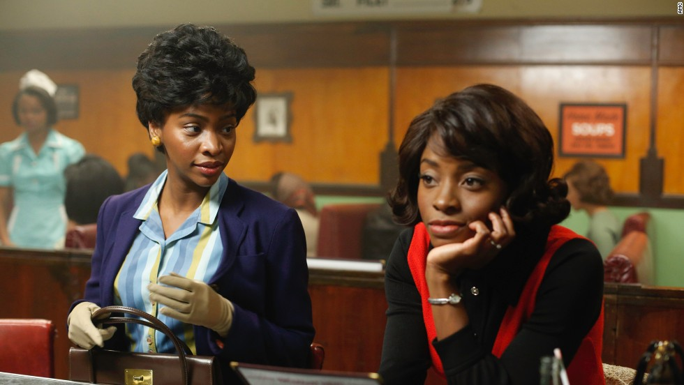 Black women carried a heavy style burden when their workplaces were run by white people, like Sterling Cooper Draper Price, Przybyszewski said. Many felt pressure to dress better than anyone else in the workplace, she said, and they still faced judgment -- especially of their hair -- from white and African-American colleagues alike.