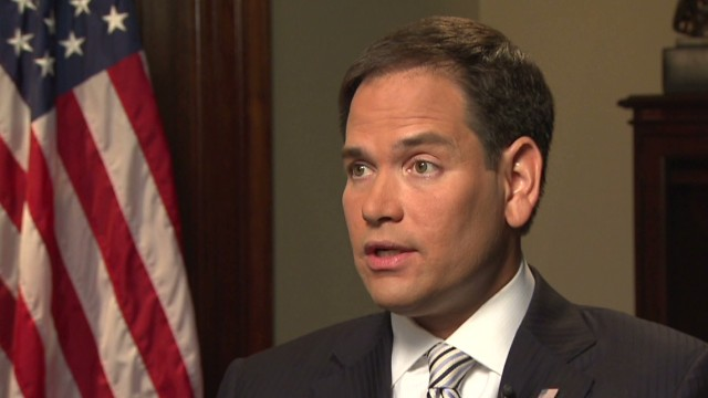 Rubio on pay gap in his office