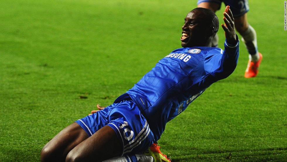 And Demba Ba sent Chelsea through with his effort in the 87th minute.