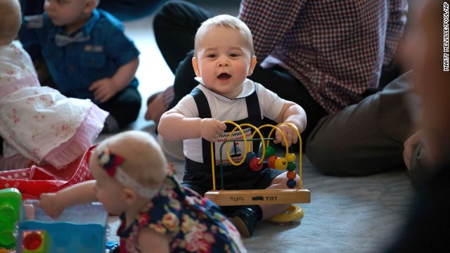 See video of adorable Prince George