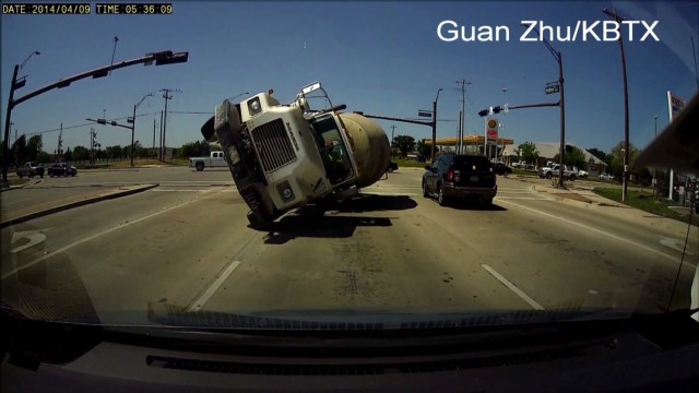 Cement truck flips over and crashes head-on_00000710.jpg