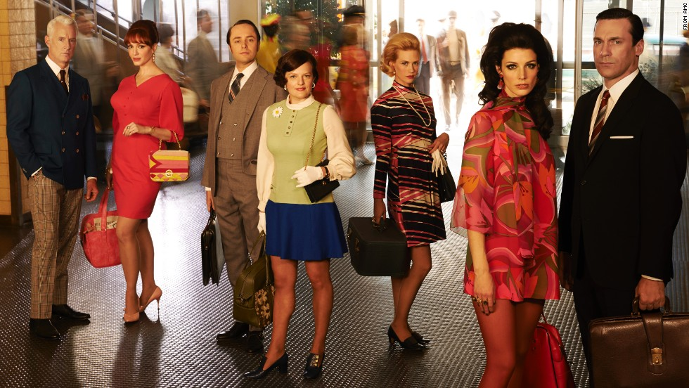 "In honor of the last season of ""Mad Men,"" we look back at the television show's wardrobe, which reflects the 1960s and inspired modern looks."