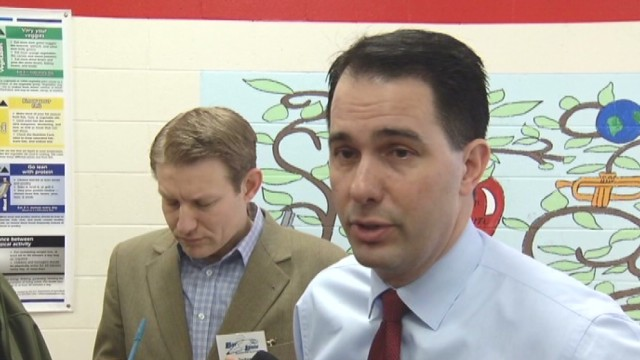 Gov. Walker: No diploma? No problem