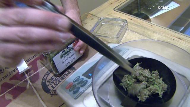 Colorado marijuana sales? Not that high