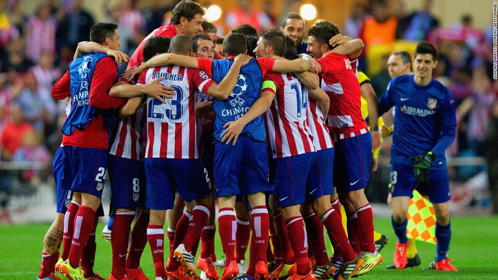 Atletico Madrid are enjoying one of the finest seasons in their history. Coach Diego Simeone has led Atleti to the top of the Spanish league and into the semifinals of Europe's premier club competition for the first time since 1974. A goal from Koke at the Vicente Calderon stadium on Wednesday was enough to see Atletico beat Barcelona 2-1 on aggregate. The current squad, spearheaded by in-form striker Diego Costa, are looking to crown the club European champions for the first time.