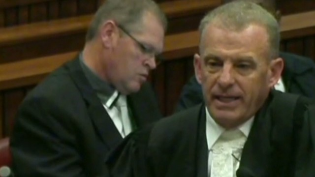 Prosecutor to Pistorius: You're lying