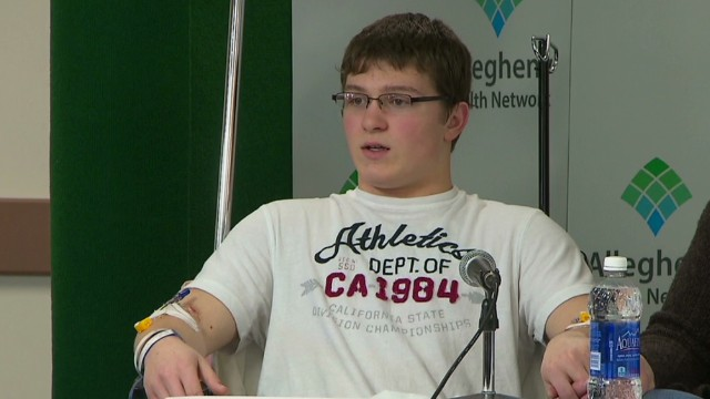 Student recounts moment he was stabbed