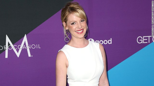 Katherine Heigl attends 'united4:humanity' at Sony Pictures Studios in February 2014 in Culver City, California.