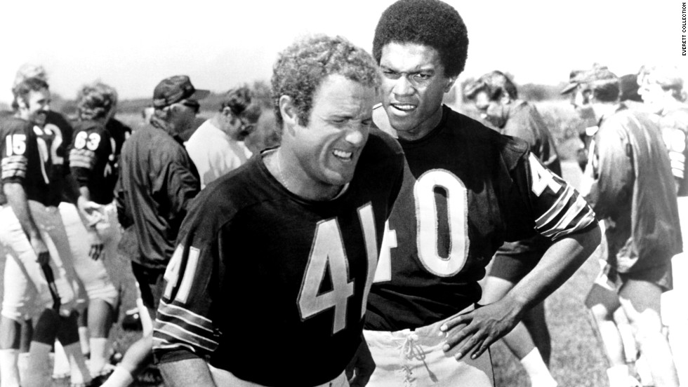 """Brian's Song"" (1971): James Caan, left, and Billy Dee Williams in a football bromance."
