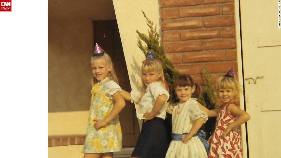 "<a href=""http://ireport.cnn.com/docs/DOC-1118810"">Kathi Cordsen's </a>sister and three of her cousins are seen here posing in Cypress, California, in 1969, showing off the styles of the era."