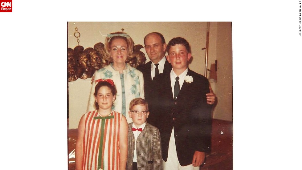 "Miami resident <a href=""http://ireport.cnn.com/docs/DOC-1118004"">Craig Riegelhaupt</a> recalls taking this ""nerdy family"" photo when they moved to the city in 1967. ""The bows in my mother's and sister's hair, and my red bow tie and horn-rimmed glasses epitomize the look of the 1960s."""