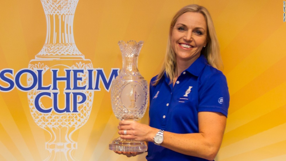 Carin Koch will be Europe's Solheim Cup captain for next year's competition, which takes place at St. Leon-Rot in Germany on September 18-20.