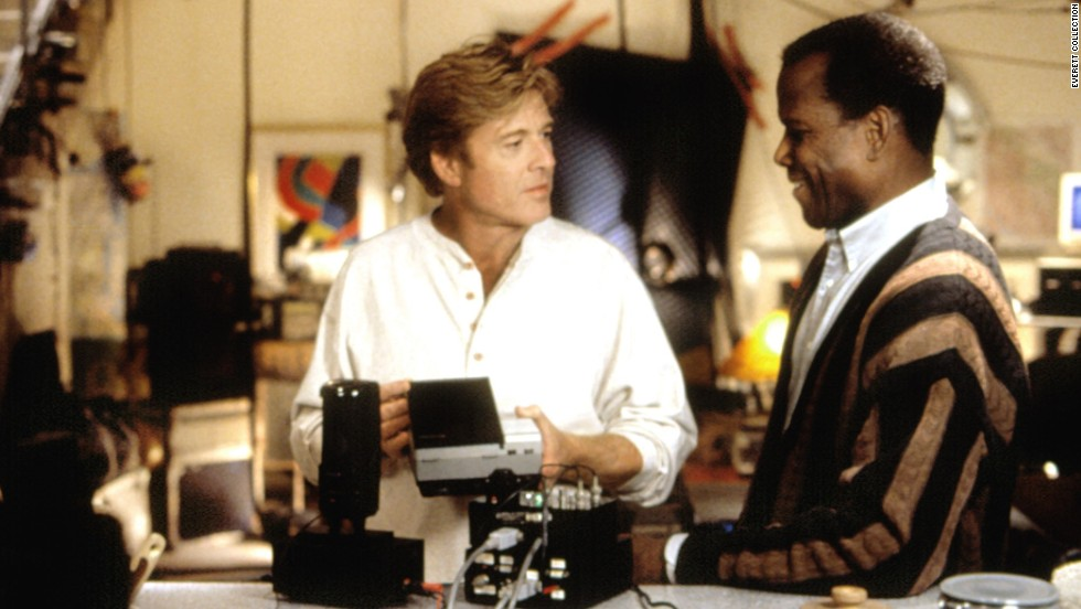 "Poitier has rarely acted in the last three decades. One of the few films he made was ""Sneakers"" (1992), in which he and Robert Redford co-star as members of a security firm. The cast also includes Dan Aykroyd, David Straithairn and River Phoenix."