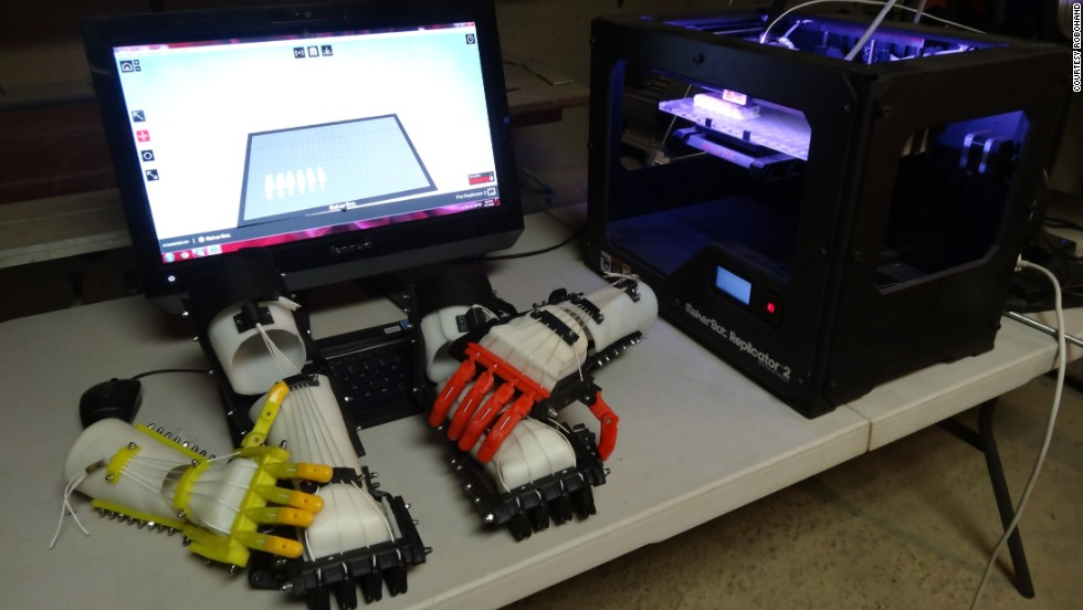 Its designs are open source, meaning anyone with access to 3-D printers can print out the parts and assemble them.