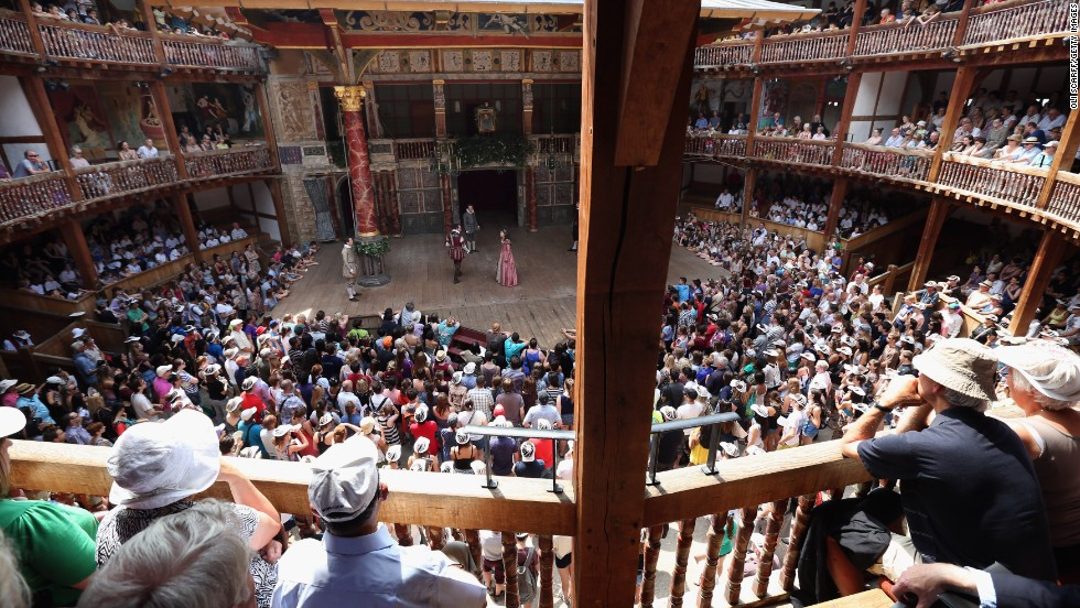 "After watching a Shakespeare classic like ""A Midsummer Night's Dream,"" you can tour the Globe Theatre."