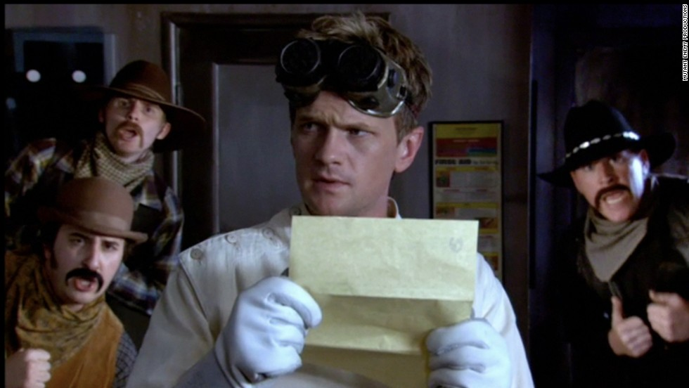 """Perhaps for a change of pace -- or to flaunt his range -- Harris switched things up in 2008 with a starring role in Joss Whedon's adored """"Dr. Horrible's Sing-a-Long Blog."""" Created as a Web musical that later made its way to TV, """"Dr. Horrible"""" starred Harris as its titular would-be evil guy who's trying to win the love of his life, Penny, (Felicia Day) from the attention of the story's hero (played by Nathan Fillion)."""