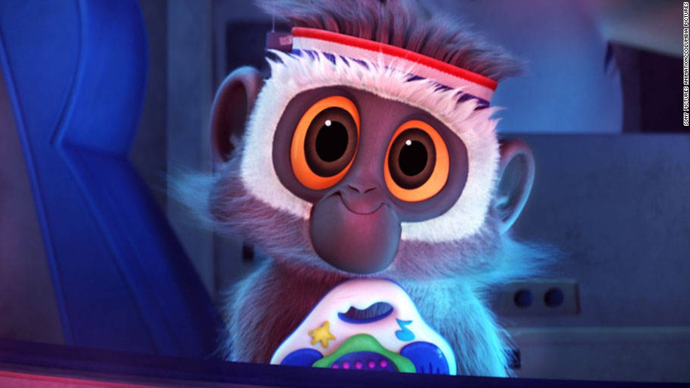 """The monkey in 2009's """"Cloudy with a Chance of Meatballs"""" is more of a sight gag than a speaking role, but in a way that makes it perfect for Harris, who embraces a little physical comedy. This animated animal doesn't speak much, but when he does that's Harris that you're hearing."""