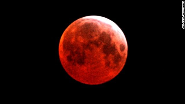 `Blood moon': Why is it red?