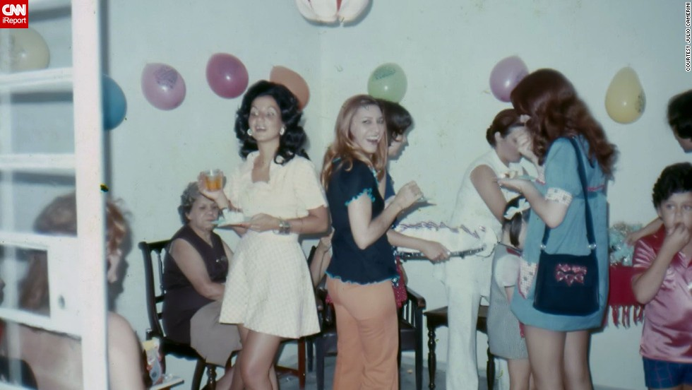 "<a href=""http://ireport.cnn.com/docs/DOC-1119761"">Julio Camerini </a>shared a photo from 1969 of his ninth birthday in Sao Paulo, Brazil. He says back then Brazil was influenced by the U.S. when it came to music and fashion. ""Rock and Roll dominated the programming on radios, and so did mini skirts,"" he said."