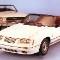 21,mustang.1984 Ford Mustang convertible and 1965 Mustang neg CN38002-671
