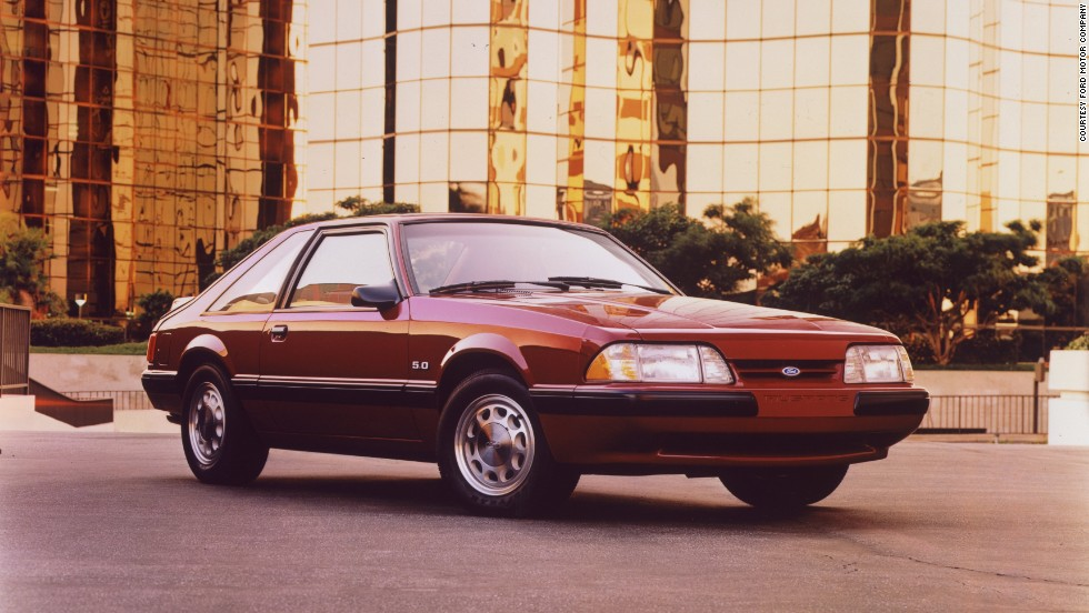 <strong>1988 Ford Mustang LX fastback. </strong>The 5.0-liter LX model was popular, as it offered all the power of the GT but was 200 pounds lighter.