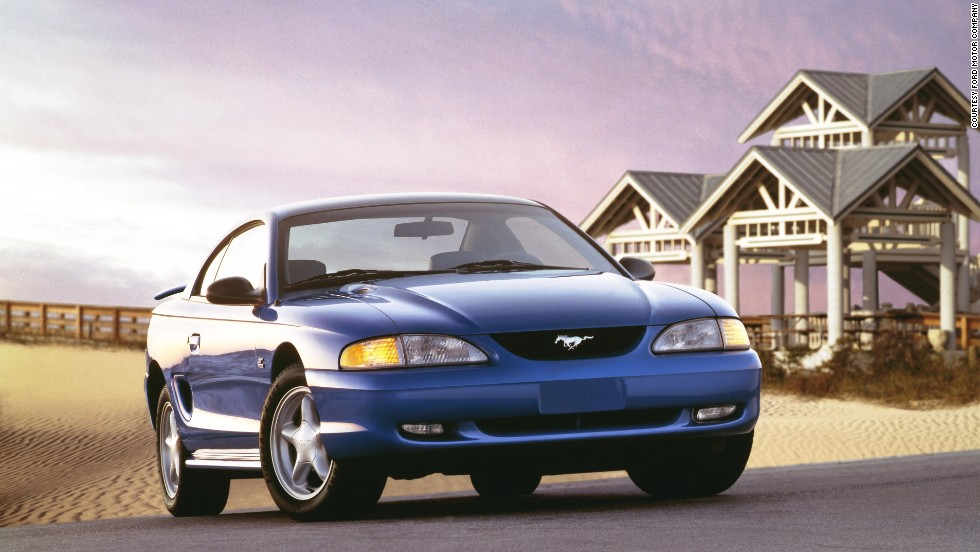 <strong>1995 Ford Mustang GT. </strong>This was the final model year for the 5.0-liter V-8.