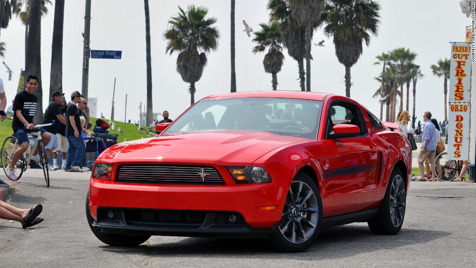 <strong>2011 Ford Mustang.</strong> Ford introduced a new 5.0-liter V-8 engine that delivered 412 horsepower and a highway fuel economy of 26 miles per gallon.