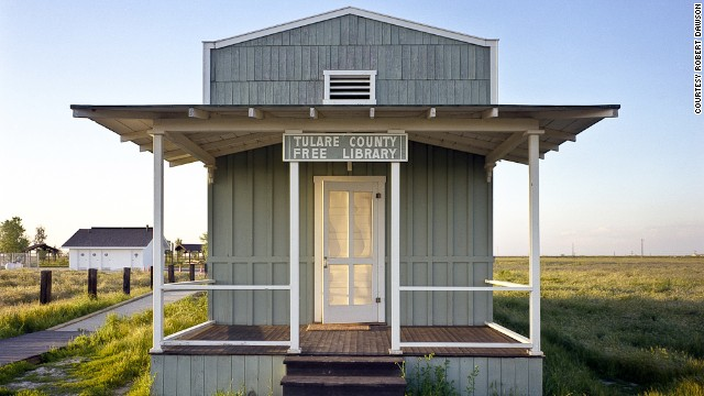 Robert Dawson visited a library built by ex-slaves, Allensworth, California.