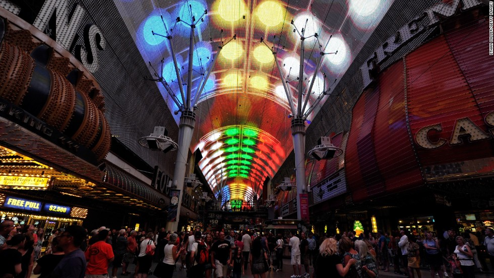 Las Vegas has had a recent surge in development Downtown. Fremont Street Experience, a pedestrian mall and concert venue, is a mid-'90s precursor to the latest wave of investment.