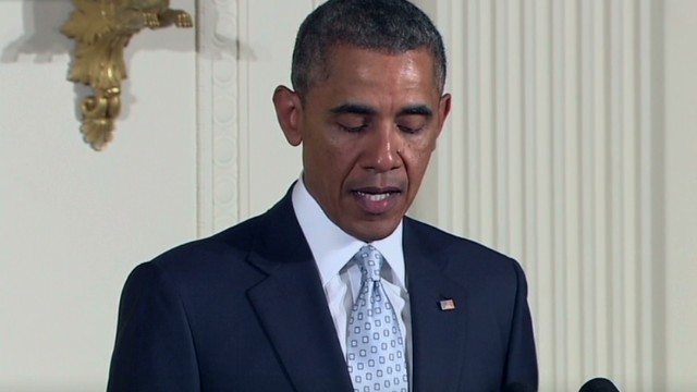 Obama: No one should fear when they pray