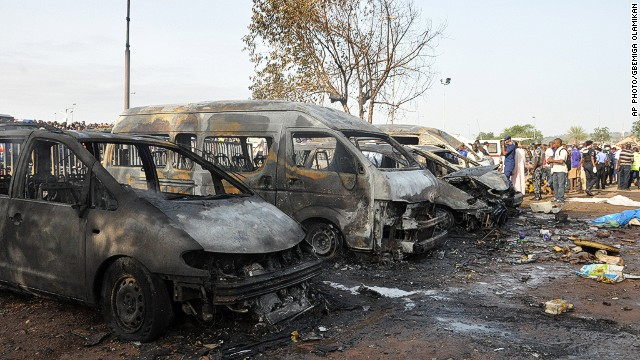 Explosion kills dozens in Nigeria