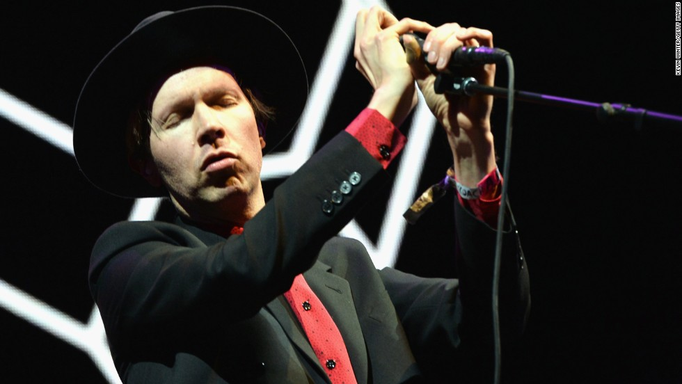 Beck performs on April 13.