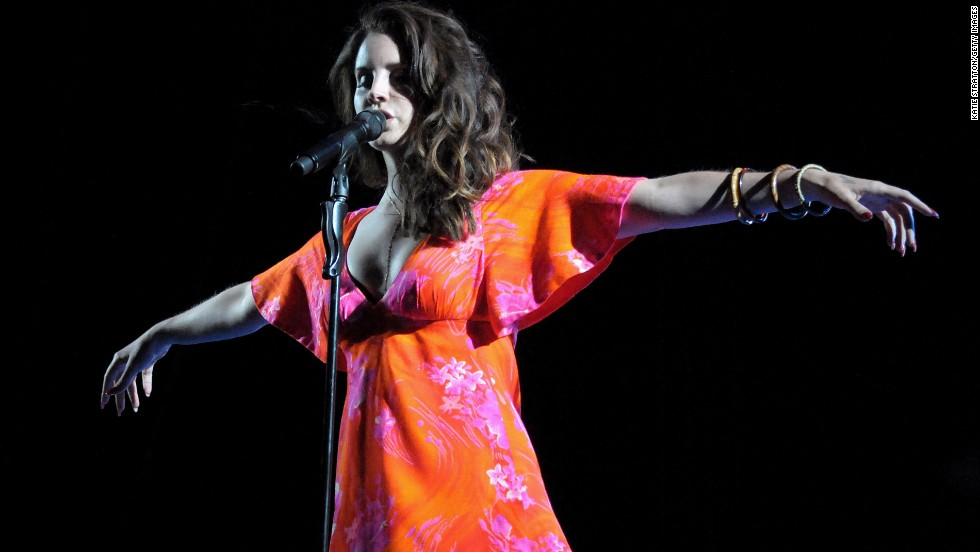 Lana Del Rey sings on April 13.