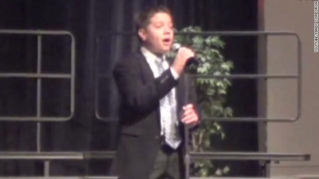 Kansas shooting victim loved to sing
