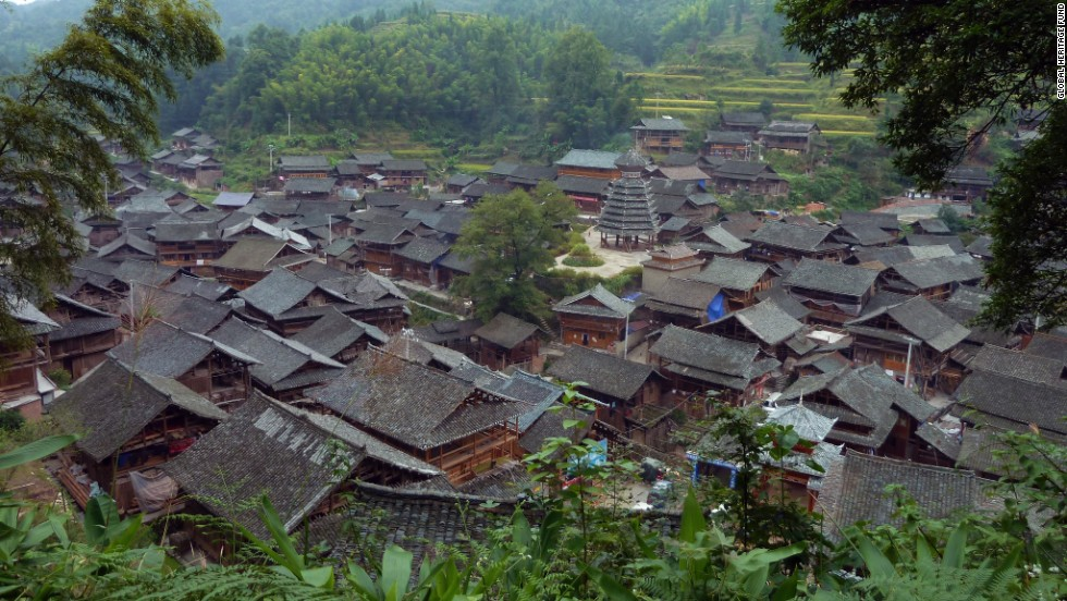 "The Dong people live in Dali Village, one of the <a href=""http://globalheritagefund.org/what_we_do/overview/current_projects/guizhou_china"" target=""_blank"">Minority Villages of Guizhou, China.</a> Although thousand-year-old architecture, landscapes and traditions still exist in the villages, modernization is slowly driving out the ancient ways."