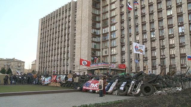 Donetsk protesters ignore deadline